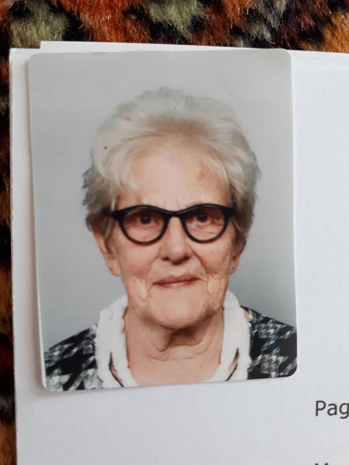 De vermiste Ciska Kapteijns (83) uit Den Bosch.
