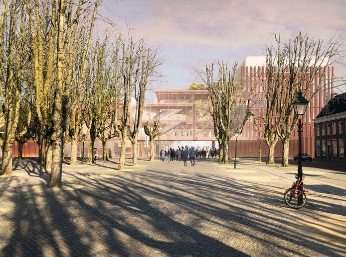 Het  ontwerp van het nieuwe Theater aan de Parade, zoals op 23 april is gepresenteerd.