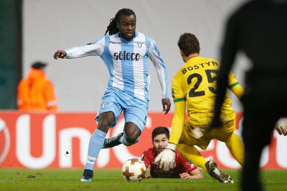 Jordan Lukaku speelde de hele wedstrijd bij Lazio.