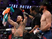 Supersnelle overwinning Conor McGregor bij comeback in UFC