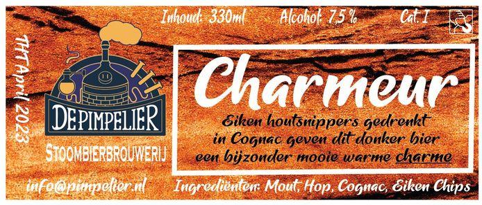 Brabants Lekkerste Bier 2020: Charmeur van stoombierbrouwerij De Pimpelier uit Budel-Schoot.