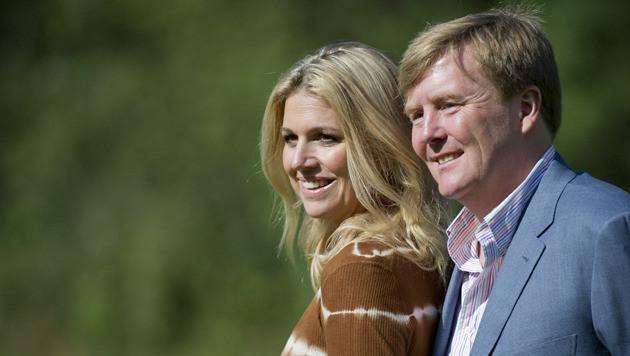 Willem-Alexander en Maxima.