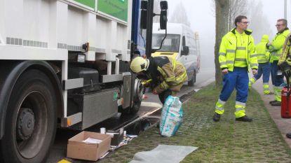 Weer brandje aan vuilniswagen op aardgas