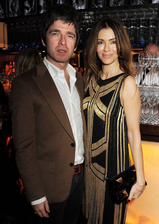 Noel Gallagher en zijn vrouw, Sara MacDonald.
