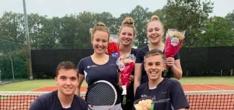 Borculose tennissers kampioen in landelijke derde klasse