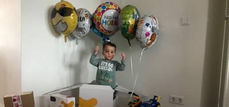 Duizenden kaartjes voor jarige Maxx (3) na oproep moeder: 'Superlief'