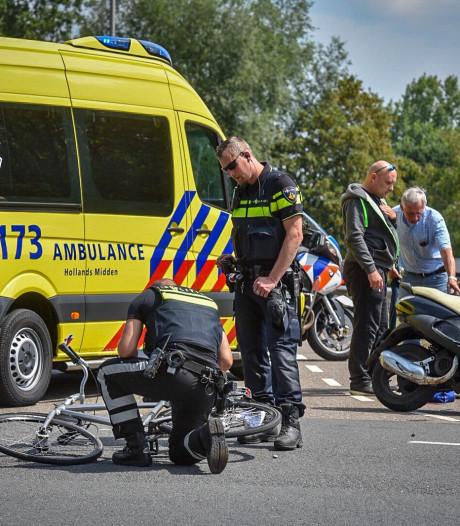 Twee gewonden bij aanrijding in Alphen