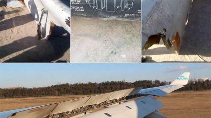 KLM-toestel verliest stuk vleugel vlak voor landing in Zimbabwe