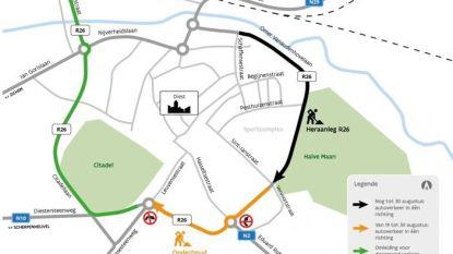 Ring rond Diest grotendeels afgewerkt voor het nieuwe schooljaar
