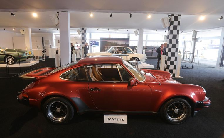 Porsche 911 Type 930 Turbo uit 1976.
