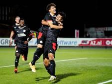 Ismael Saibari bezorgt Jong PSV met glaszuivere hattrick drie punten