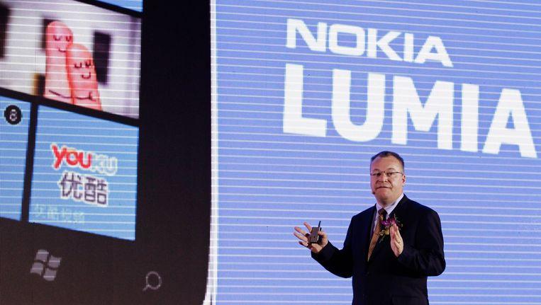 De lancering van de Lumia zou Nokia weer wat omhoog kunnen helpen.