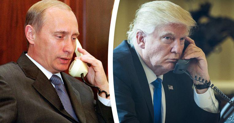 """Volgens het Kremlin was het telefoongesprek """"constructief"""" en """"zakelijk""""."""