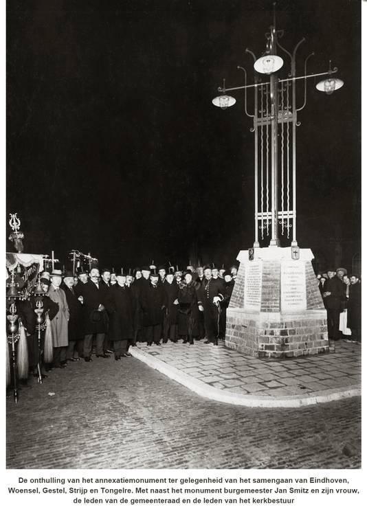 Onthulling annexatiemonument 31 december 1919