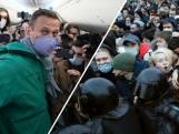 Russen massaal de straat op voor vrijlating Navalny
