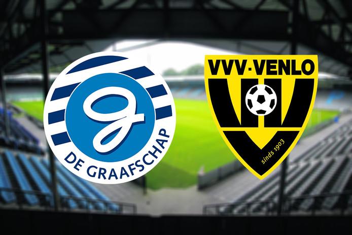 De wedstrijd tussen De Graafschap en VVV Venlo, komende zaterdag om 18.30 uur, gaat door ondanks de aangekondigde cao-acties van de politie.