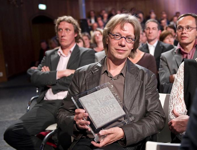 Lucien Baard heeft De Tegel gewonnen. Foto ANP
