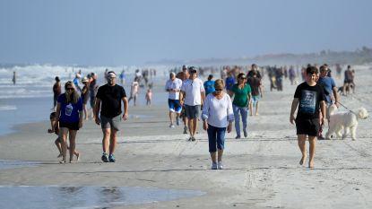 Stranden in Florida weer open ondanks stijgend aantal besmettingen met coronavirus: meteen massa volk