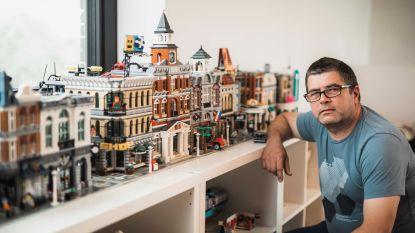 """Pedro Steegmans bouwt graag met LEGO: """"Gefascineerd door de creativiteit en techniek"""""""
