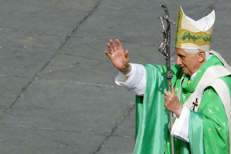 Paus Benedictus XVI (AFP) Beeld