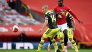 Man United lijdt in extremis puntenverlies en doet slechte zaak in strijd om Champions League-ticket
