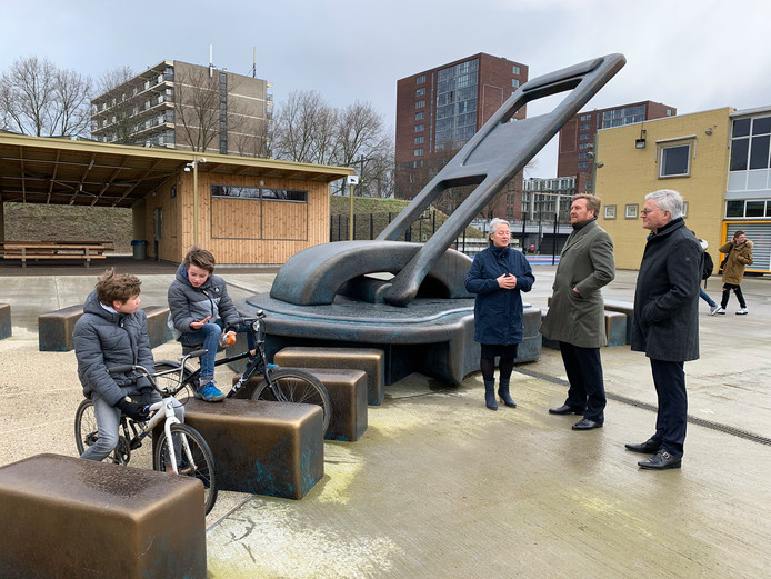 Koning Willem-Alexander op bezoek in Tilburg.