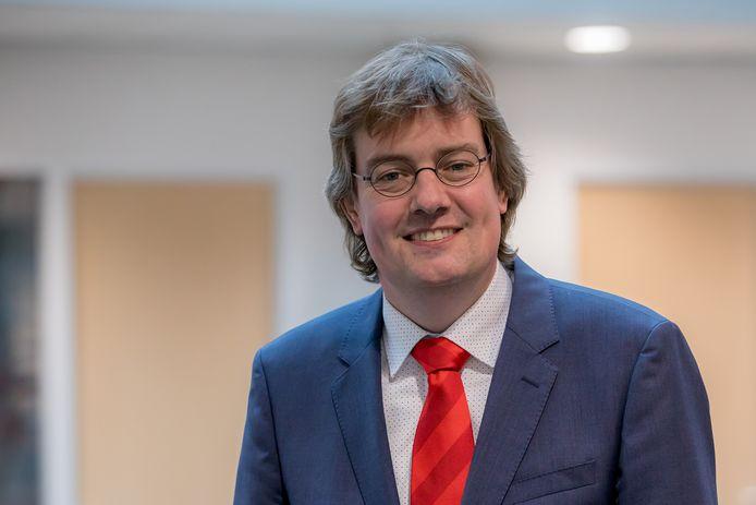 Wethouder financiën Daniël Joppe  van de gemeente Schouwen-Duiveland