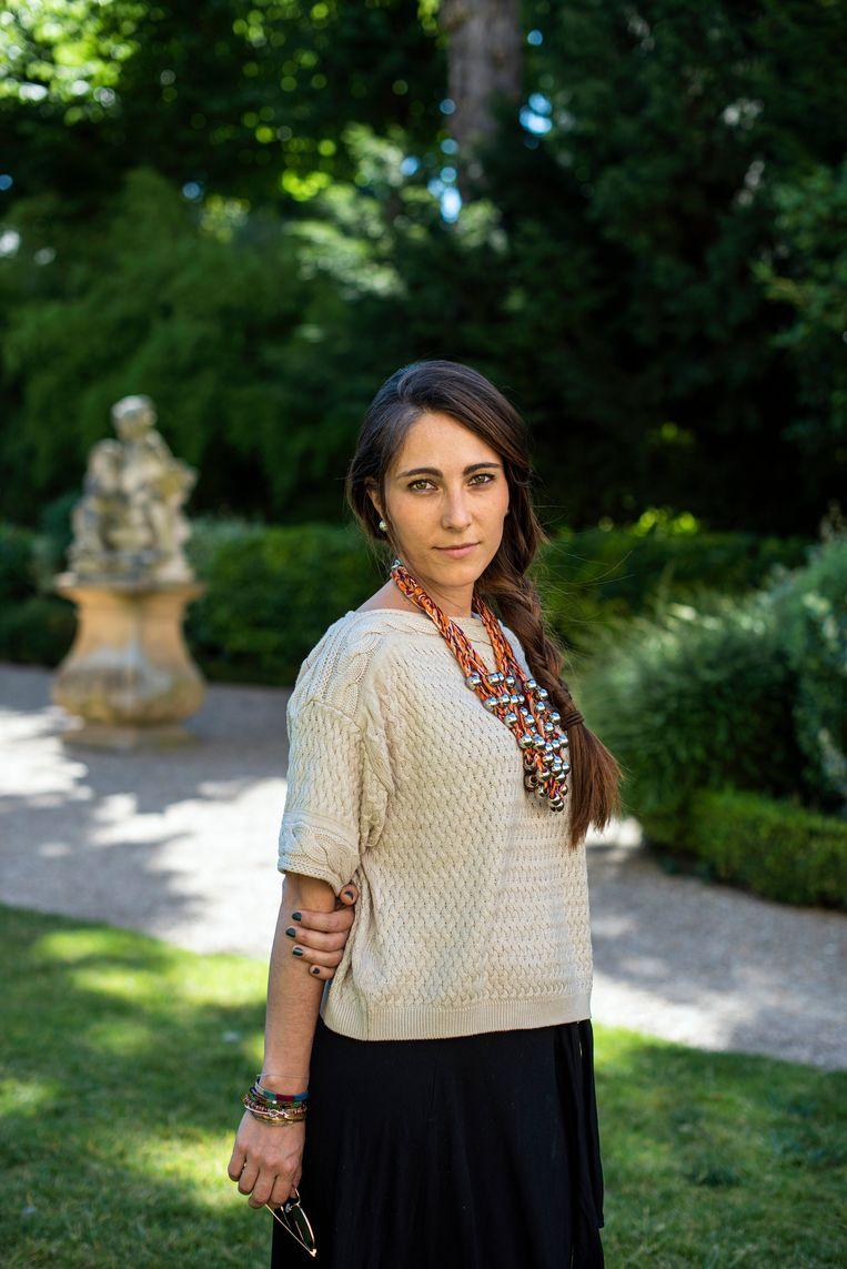 Christina Chirouze. Beeld Bart Koetsier