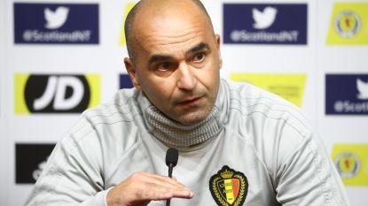 """Roberto Martínez waarschuwt voor """"gewond dier"""" Schotland en excuseert zich bij Belgische media"""