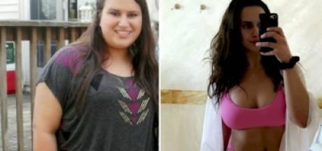 Transformation impressionnante d'une jeune femme ayant perdu 68 kilos