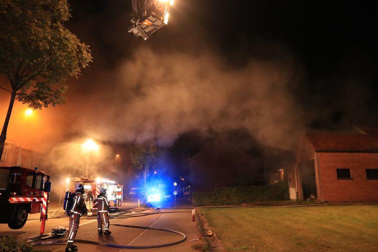Bijna alle branden situeerden zich in de omgeving van de Kapelstraat.