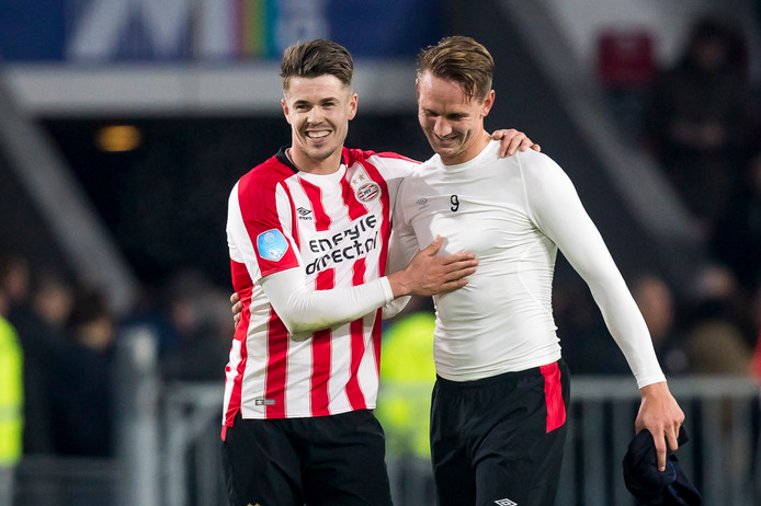 Marco van Ginkel en Luuk de Jong.