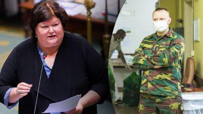 """Medici van Defensie op achterste poten: """"Minister De Block, u heeft gefaald. Wij niet"""""""