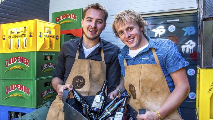 Wouter Bol (links) en Harm Heijmerink (28): 'Dit is lekker!'
