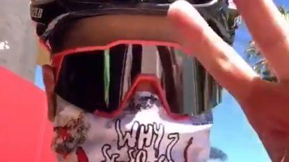 Licht aan het einde van de tunnel voor 'echte coureur' Sagan, die gaat trainen met opvallend mondmasker