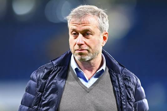 Chelsea-baas Roman Abramovitsj.