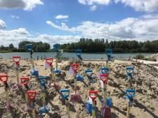Tijdcapsule onder nieuwe woningen op eilandje in Schuytgraaf