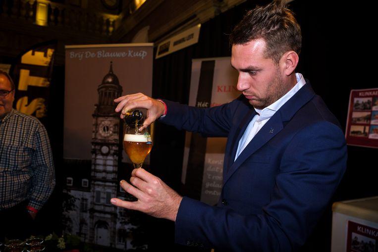 Maar bier stond uiteraard centraal op deze dag.