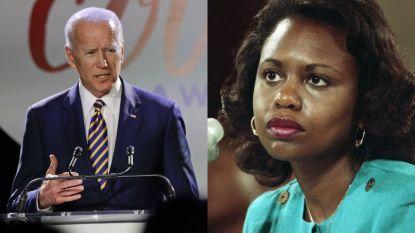 Staat 30 jaar oude hoorzitting Joe Bidens presidentskandatuur in de weg?