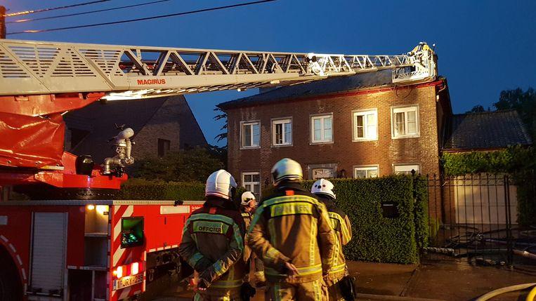 De brand in Poederlee