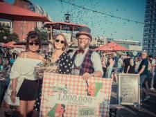 Miljoenste bezoeker voor Festival TREK in Den Bosch