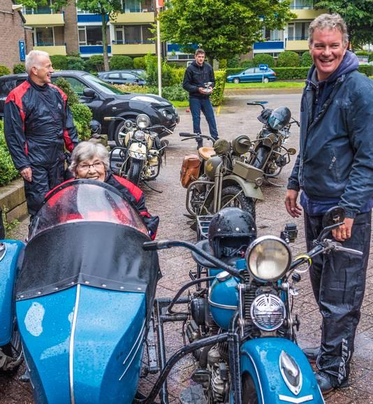 Motorrit 79-jarige mevrouw Dries