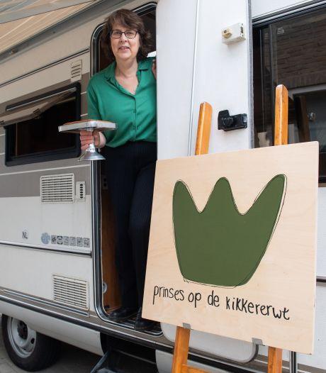 Prinses op de kikkererwt laat vanuit de camper iedereen proeven van veganistisch eten