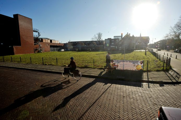 De hoek Kalverstraat/Tilburgseweg in Goirle.