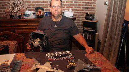 Wim Muylaert (46) ontwerpt collectors item voor F-16 squadron