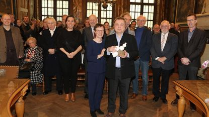 Man achter de schermen Piet Candeel ontvangt cultuurprijs