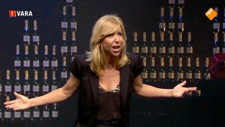 Claudia de Breij. Beeld screenshot