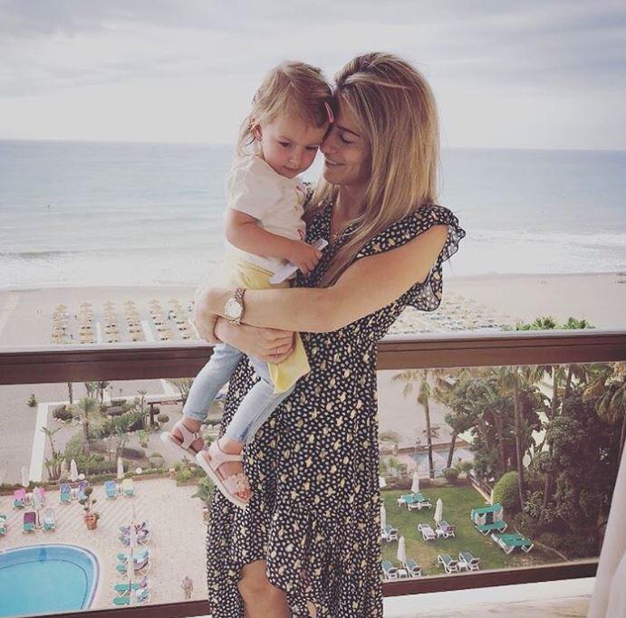 Estavana en dochter Jesslynn