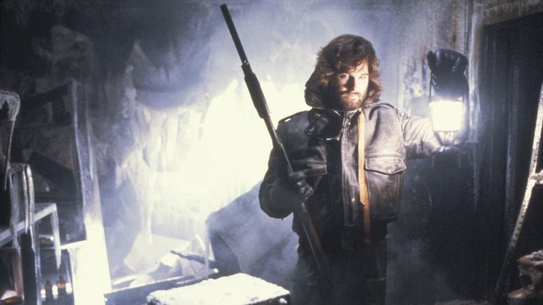 Kurt Russell in The Thing van John Carpenter. Beeld