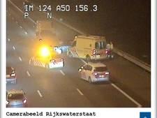 A50 weer vrij na ongeval bij Heteren